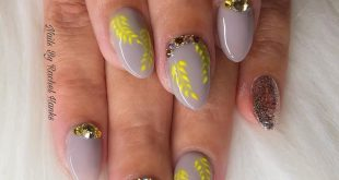 Lovely nails to match a dress using crystal parade sparkle  . .