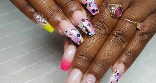 Loving these confetti accents . Your nails speaks before you, Speak BOSSY!!! Get