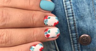 Matte flowers in style ⠀ The work of our master Anastasia ⠀ With 20 she goes