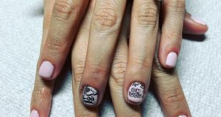 Obsessed with these school themed nails
