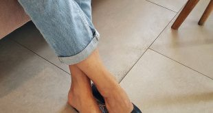 Trend pedicure to the point with nail extension from
