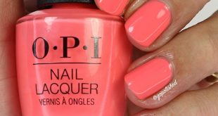'Orange You A Rockstar?' from the new OPI Neons Collection.  I have a review, li