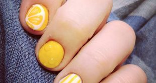LEMONADE. . .  Are brought to you by my current fruit nail obsession. Very soon