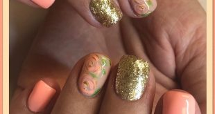 Beautiful color called  from  & gold called  I also add some hand painted roses