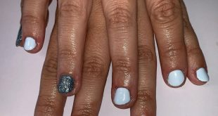 Blue  • Pastel blue & glitter from the  range... these colours are amazing!  • A
