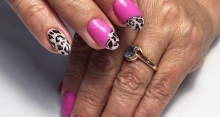 Combined manicure, alignment of the nail plate, gel polish, design ——— Ra