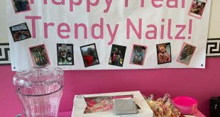 Come celebrate with us today! Free nail art!  The Trendy Nailz Team!  1 year ann