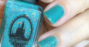 Hello girlfriends! I had not put this beautiful turquoise flakie m