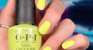 New  Neon Collection Wearing 'Pump up the Volume,' a fun neon yellow!!! This lea