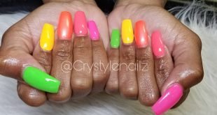 "We called these ""Tropical Punch"" Who Nail'd You?! Come check me out! Book Now Te"