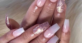 Another Classy set with a Touch of RoseGold . . . .         ChicsHairandNails  5