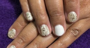 Simple gel with some sparkle  . . . .