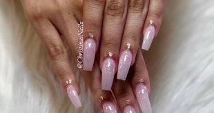 So natural with a touch of glitter . . . .         ChicsHairandNails  559-374-55