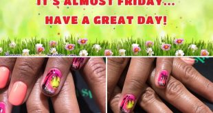 The weekend is almost here!  These nails are ready, are yours???