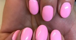 builder in a bottle and  candy floss gel polish