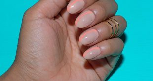 nude and neon nail look —————————————————————————— PRODUCTS USED  Gala-vant & Ca