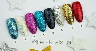 Confetti Trendy nails gel paste Not only your fingers will sparkle, but also from