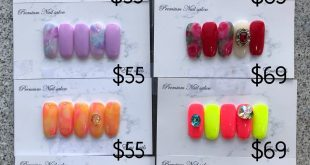 Emi nails this month nail promotion. All most fully booked this month -! Sorry f