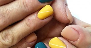 I have done more yellow polish in the last few weeks, than I ever have before! I