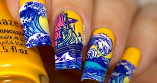 Sea nails with  Home sweet home house music, Sun upon my skin, Metro pollen-tin,