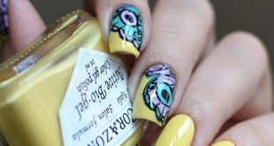 Today I have such a manicure ⠀ At the heart of the varnish laid in 2.5 layers, butterfly