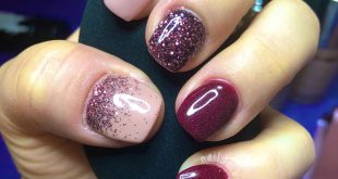 loving this combo!  Ron Burgundy on middle and ombré on thumb  Goal Digger on t