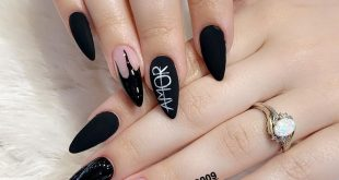 1 or 2? Matte nails lover? . .  nails by Vicky. Work with love