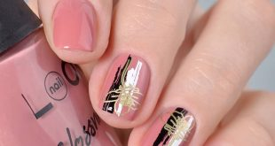 50601 Glassy from the Glossnicure Collection Design spied on Magda. Stamping Fl