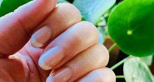Do you love a French manicure?  I changed this one up a bit; I used Tuti Cutie a
