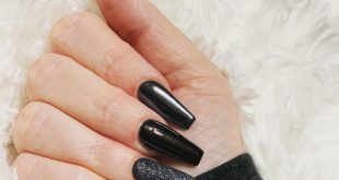 Favorite color to paint my nails is black, always!