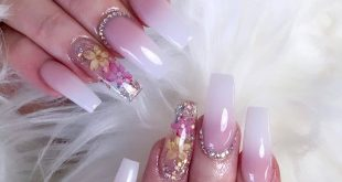 "Get ""Dried Flowers"" inspired  Reposted from  -  Beautiful Classic ombre with a L"