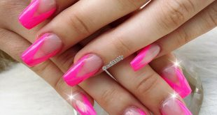 Hot summer=Neon Pink All design sets are in Acrylic and Gel Polish ! All desig