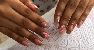 Semi-permanent enamelling on natural nails -Add your appointment (WhatsApp only) 096