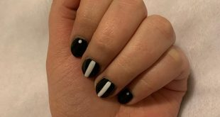 Some simple nail art for this week~ . . . . . . . . .
