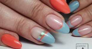 Summer vibes on Monday morning  Shellac nails without extensions  Natural growth