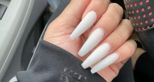 Wow I'm still in love with this all white  btw ALL ACRYLIC slaybykay