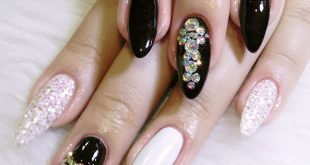 Bejewel your nails!  Nails by Lhet  Book an appointment with us! We are located