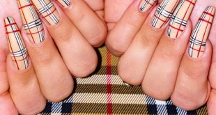 Burberry vibes Nails by  at