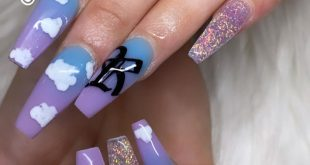 Cotton Candy  Nails on