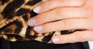 Do you have small nail beds? I absolutely love this new nail art design from our