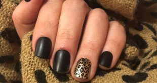 Feeling leopard vibes  Press on nails are my best accessories these days