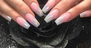 Holographic ombré  created by