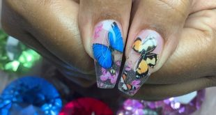 Lil garden  Nails done by Anna  DM for your appointment