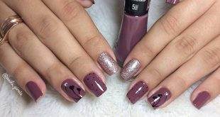 Nails Passionate about delicacy . Handmade decoration Nail polish: determi