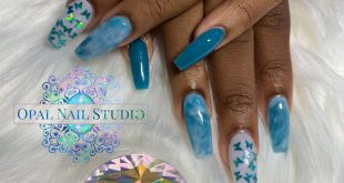 Opal Nail Studio Dm or whatsapp 244-5400 to book  Loyalty cards with every serv