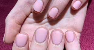 """She said her nails are too short for dip. We said """"No problem"""" :)    dip powder"""