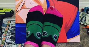 What a work of art these holey socks are
