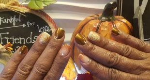 Fall nails design.        stilettonails