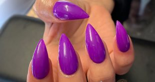 Forbidden Violet by                    nails