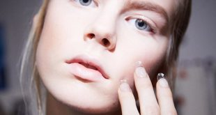 One of the summer trends for Harperbazar Magazine Incomplete Trend Manicures Nail head